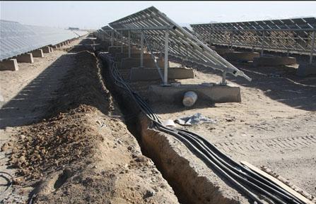 上图:青海省光伏电站规划