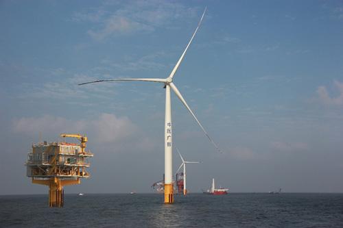 中广核如东海上风电示范项目