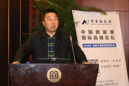 商会副会长,中国新能源汽车产业联盟主要发起单位超威集团凭借自身